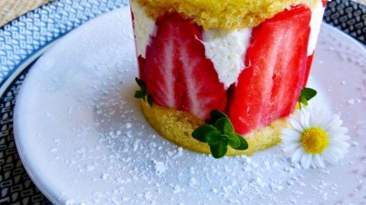 Little fraisier à la Tonka