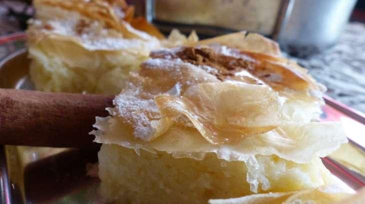 Bougatsa Pâtisserie grecque