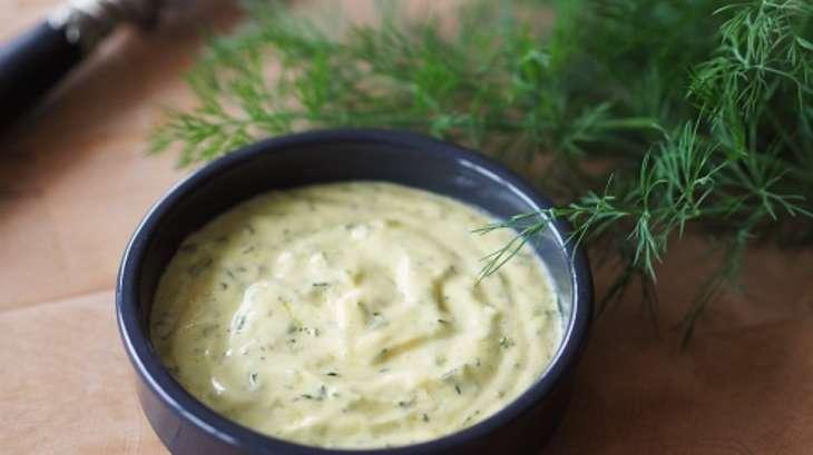 Sauce à la moutarde Savora et à l'aneth