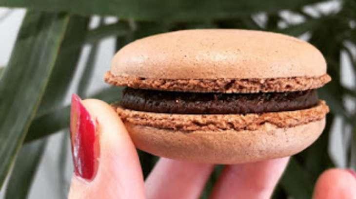 Macarons chocolat de Christophe Felder