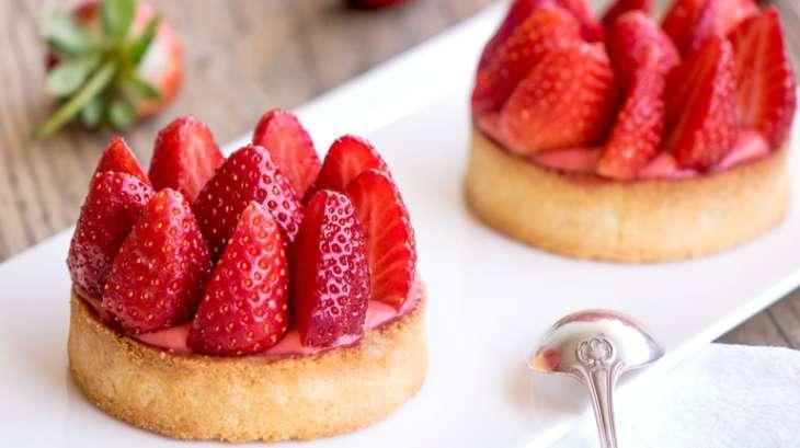 tartelettes aux fraises recette par empreinte sucree. Black Bedroom Furniture Sets. Home Design Ideas