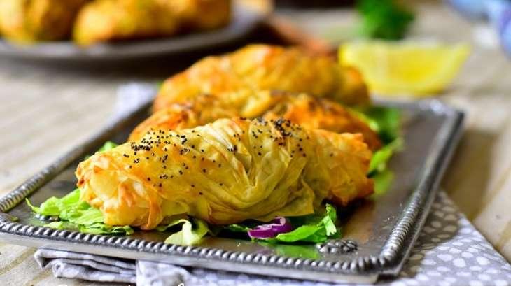 Bourek turque à la viande hachée