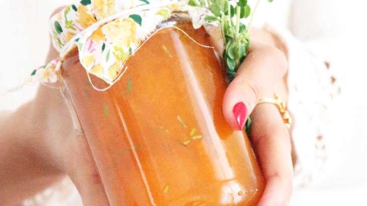Confiture d 39 abricots fait maison thym et fleur d 39 oranger recette par poire et cactus - Confiture d abricots maison ...