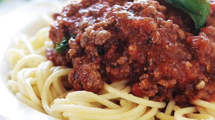 Spaghetti bolognaise facile