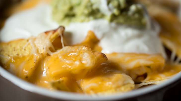 Les nachos au four