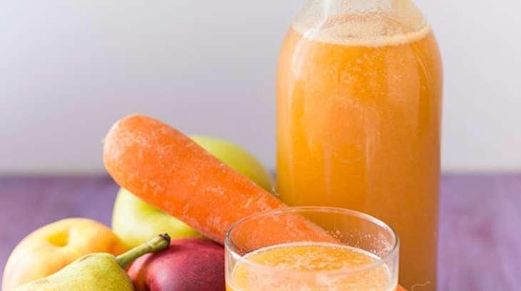 jus orange nectarine carotte poire pomme l 39 extracteur recette par stella cuisine. Black Bedroom Furniture Sets. Home Design Ideas