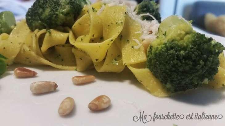 Tagliatelles aux brocolis