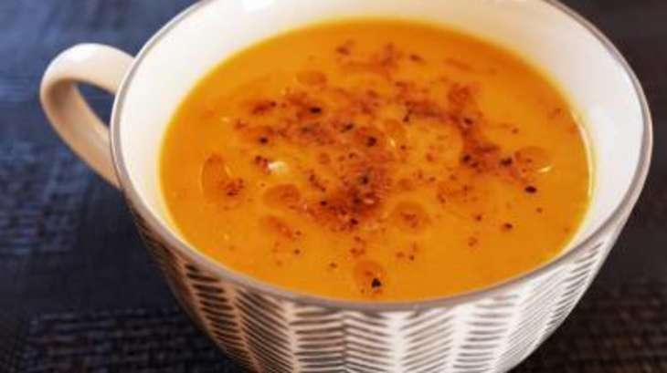 soupe de courge butternut gomasio et huile de s same recette par grain de sel et. Black Bedroom Furniture Sets. Home Design Ideas