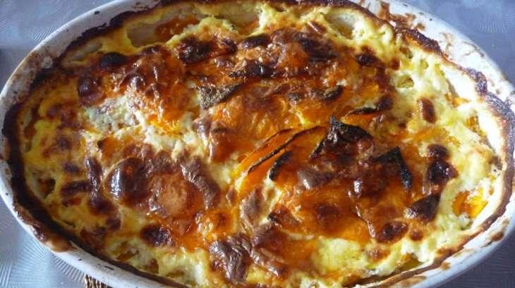 Gratin De Courge Butternut Façon Dauphinois Recette Par Luly Cooker - Cuisiner la courge butternut