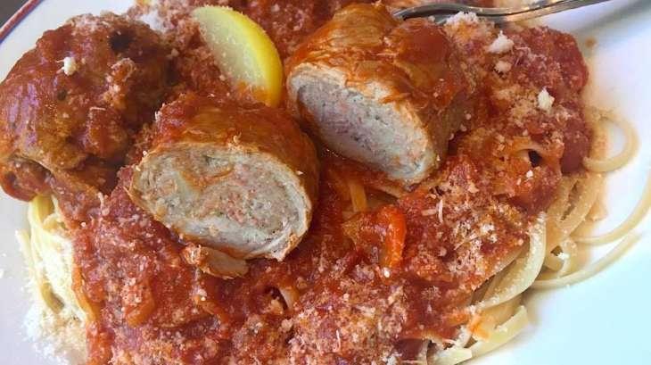 paupiette de veau aux tomates et citron confit