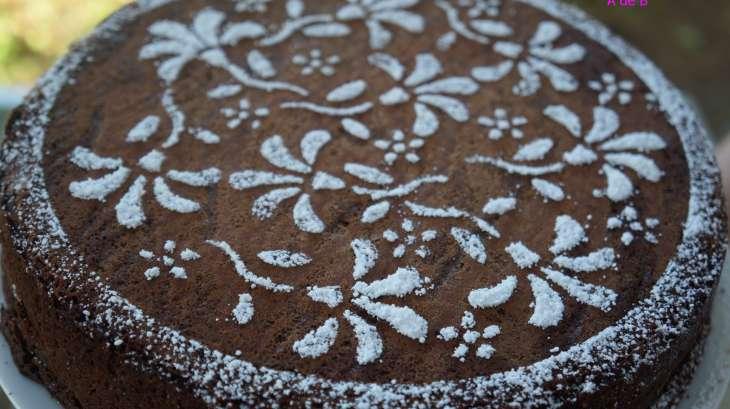 gâteau au chocolat suzy d'après le chef pâtissier pierre hermé
