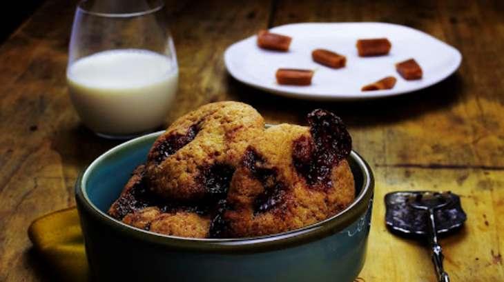 Cookies aux bonbons de caramel