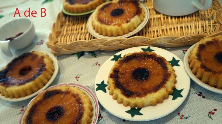 Gâteaux renversé à l'ananas et aux épices