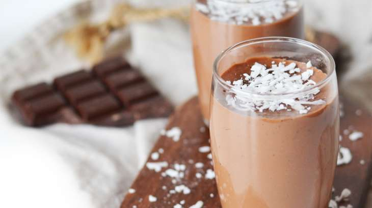 Flan chocolat coco
