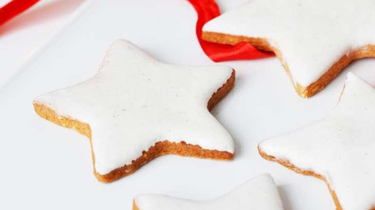 Biscuits de Noël, glaçage royal vanille