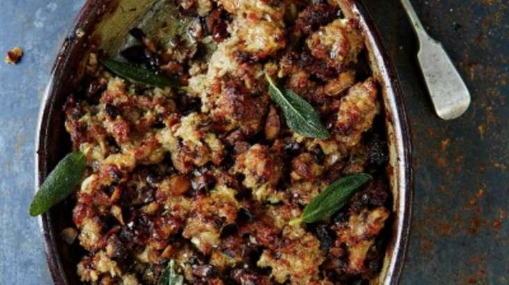 Farce pour dinde d 39 apr s jamie oliver recette par clementine - Farce pour dinde noel ...