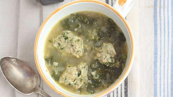 Soupe palestinienne au kale