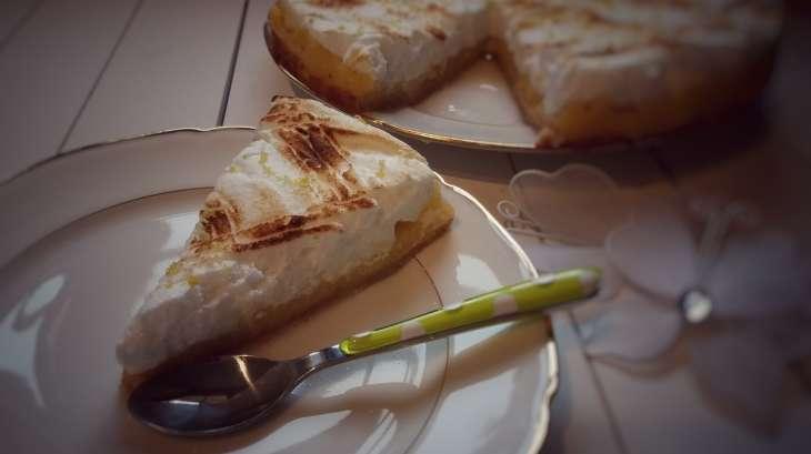 Tarte au citron meringuée version light