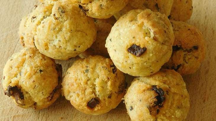 Cookies Balls aux tomates séchées