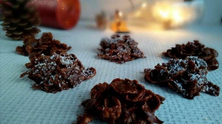 Les roses des sables chocolat coco
