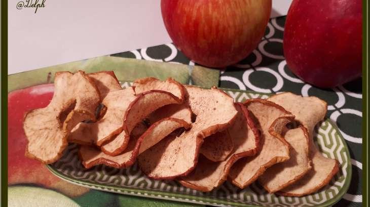 Chips de pommes à la canelle