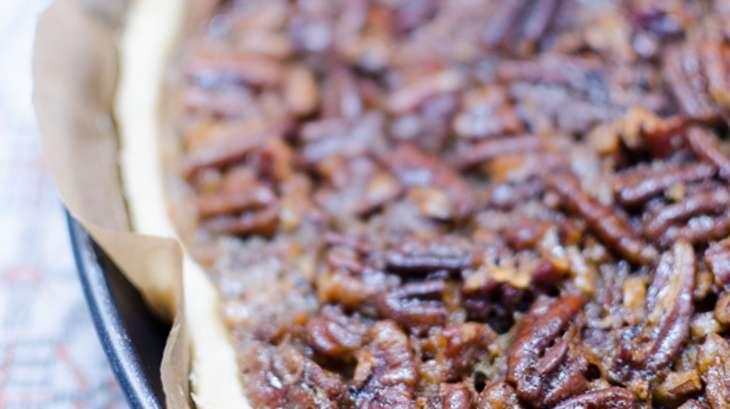 Tarte aux noix de pécan et au sirop d'érable