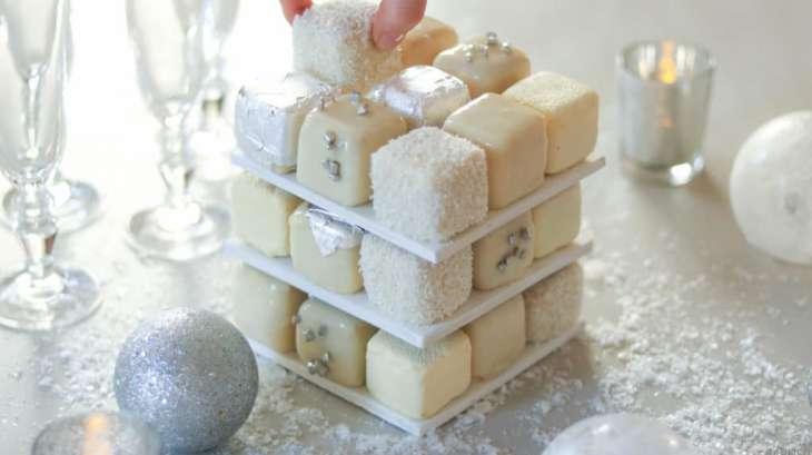 Le rubik's cake de Cédric Grolet