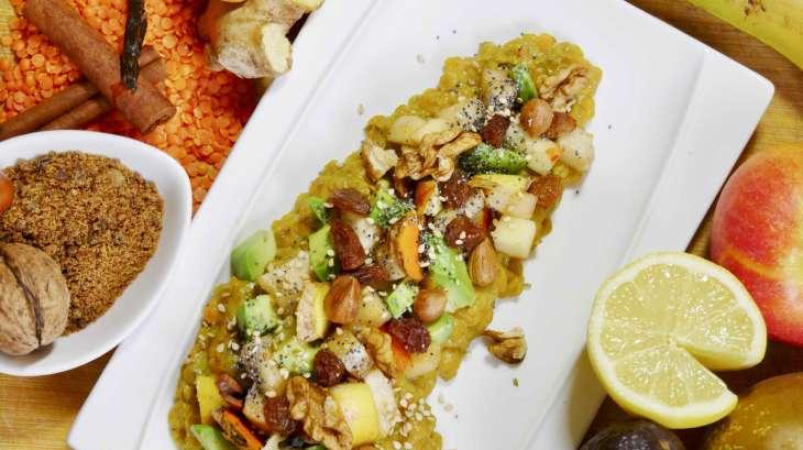 Petit déjeuner alcalinisant «Satiété et énergie» pour toute la matinée !