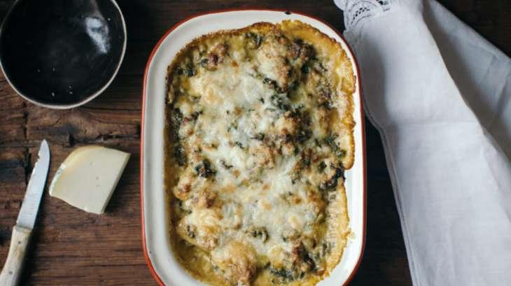 Gratin de gnocchis de sarrasin ch vre pinards - Cuisiner des gnocchis ...
