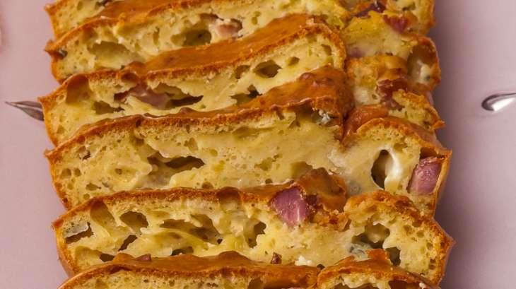 Cake au jambon et à la fourme d'Ambert