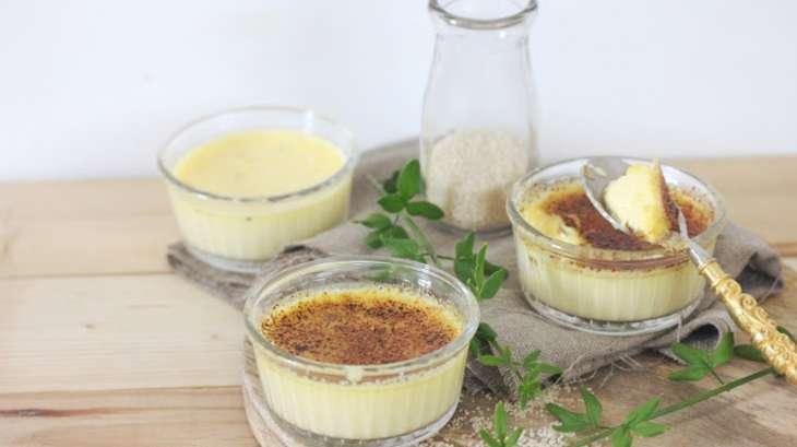 Crèmes brûlées à la vanille
