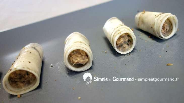 Radis noir aux rillettes de sardines