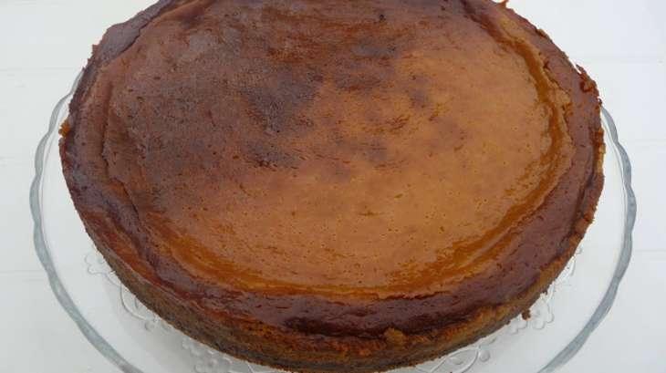 Cheesecake à la confiture de fraises