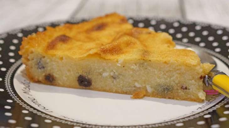 Gâteau de semoule au four