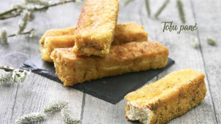 Tofu pané aux épices