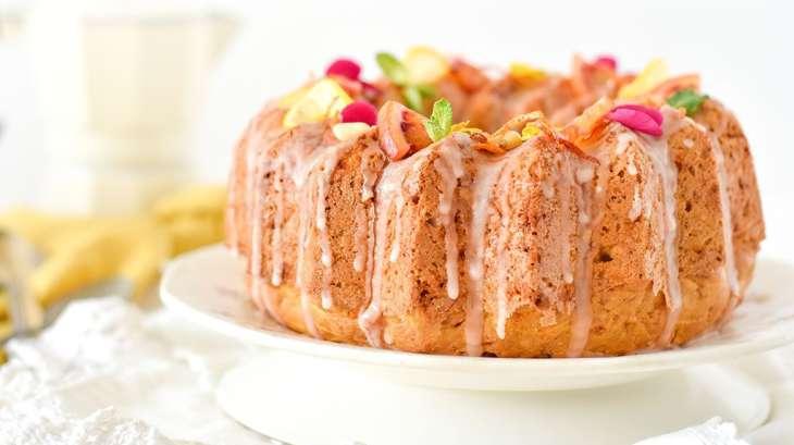 Carrot cake et glaçage à l'orange sanguine