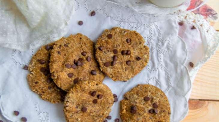 Biscuits moelleux à l'okara noisettes-coco, sarrasin, tonka et pépites de chocolats