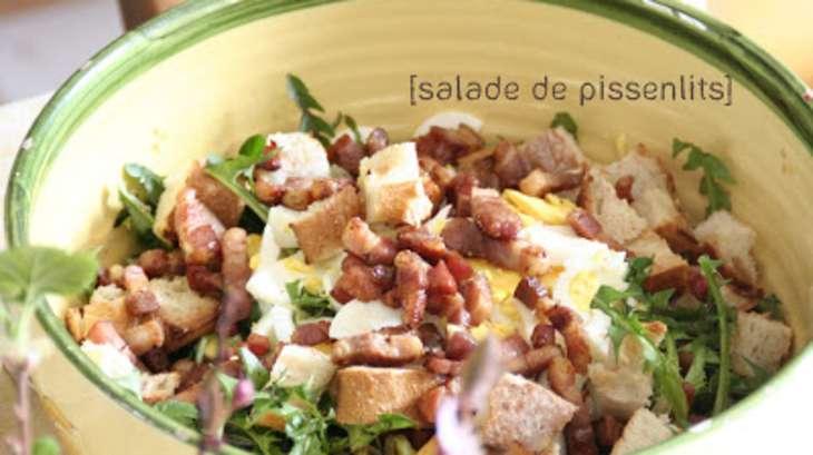 Salade de Pissenlits de Papa