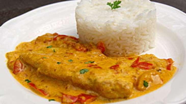 Filet de poisson au curry recette par la p 39 tite cuisine - Cuisiner du colin surgele ...