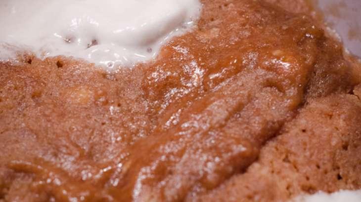 Mug cake au Toblerone et aux Chamallows