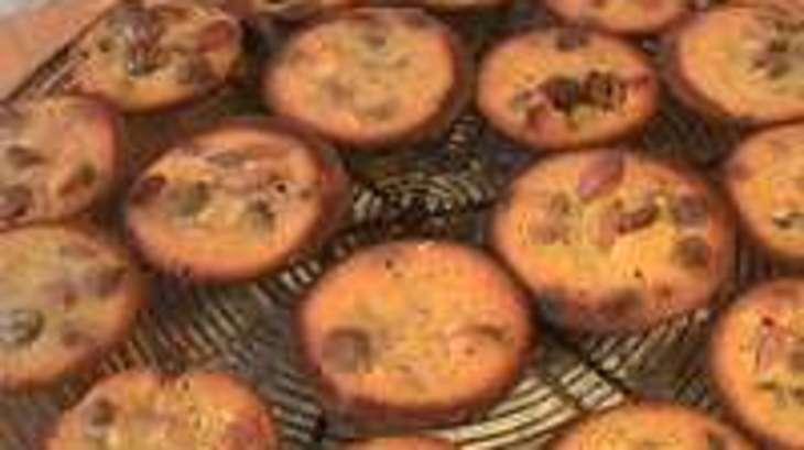 Petits moelleux au miel et fruits secs