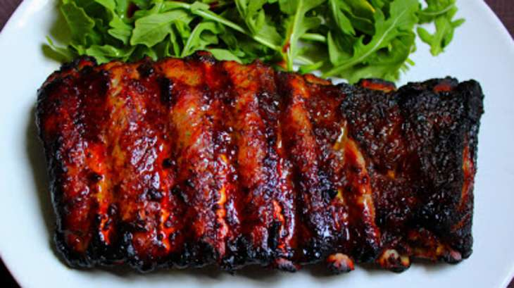 Ribs au miel gingembre et sauce de soja recette par le yin - Cuisiner travers de porc ...