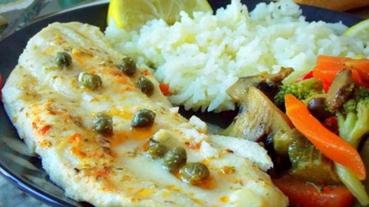 Filet de poisson au four aux l gumes saut es recette par - Cuisiner du cabillaud au four ...