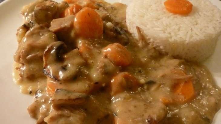 Blanquette de veau l 39 ancienne recette par macuisinedesaison - Cuisine blanquette de veau a l ancienne ...