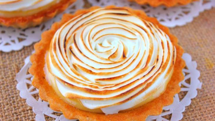 tarte au citron meringuée façon pierre hermé. - recette par les