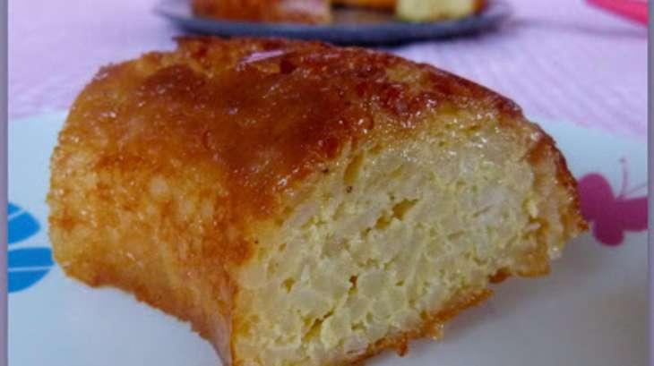 gateau de riz au caramel de la grand-mère - recette par cooking