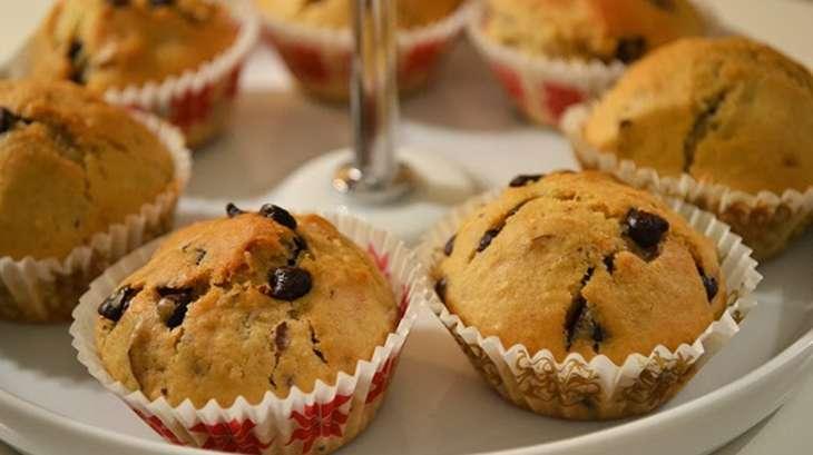 Mini-muffins noix-chocolat