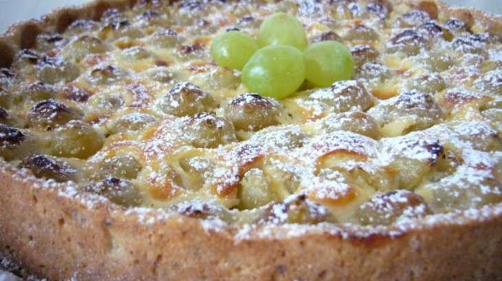 tarte au raisin frais - recette par rêves de pâtissière