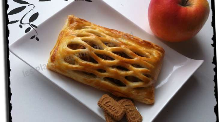 Jalousie pommes spéculoos