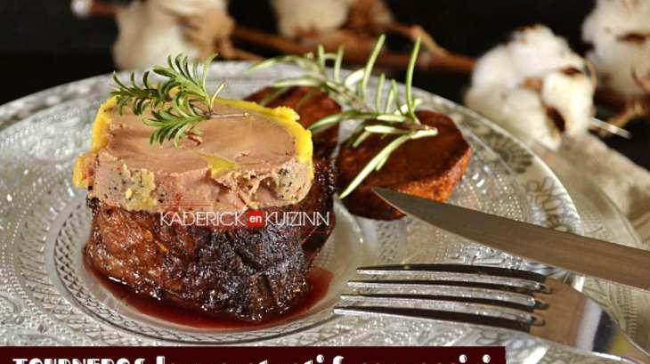 Tournedos de magret de canard r ti et foie gras mi cuit - Cuisiner le foie de boeuf ...
